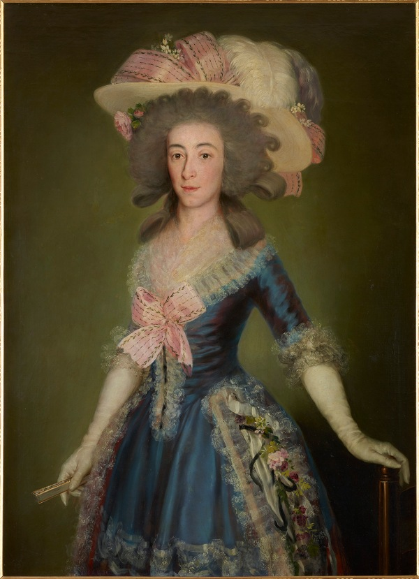 Francisco de Goya The Countess-Duchess of Benavente 1785 Oil on canvas 105 × 78 cm Private Collection, Spain © Joaquín Cortés