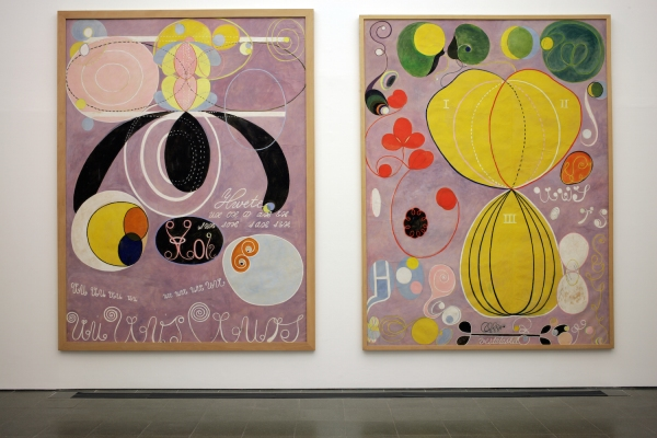 Hilma af Klint: Painting the Unseen; Installation view; Serpentine Gallery, London (3 March – 15 May 2016); Image © Jerry Hardman-Jones