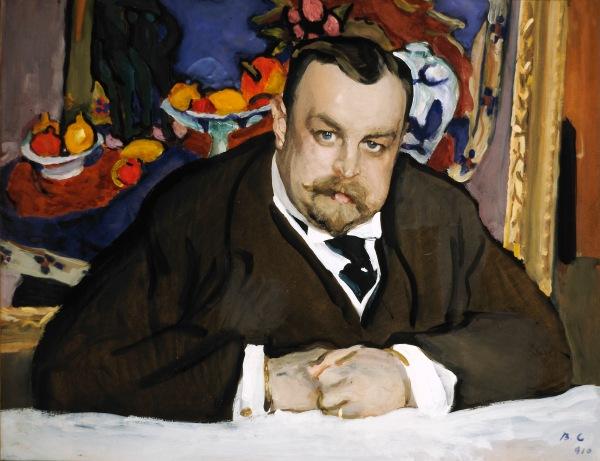 Ivan Morozov by Valentin Serov, 1910 | Courtesy National Portrait Gallery