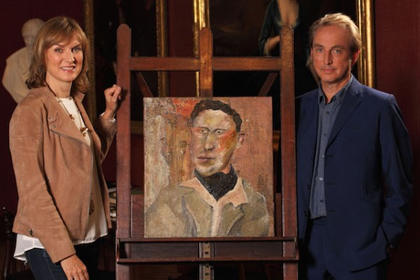 Lucian Freud on BBC's 'Fake or Fortune' Courtesy BBC